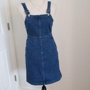 Madewell denim Hillview dress